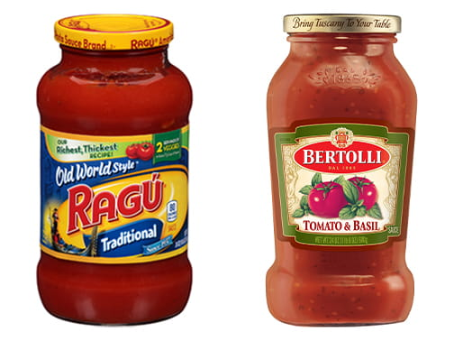 Photo: Acquires two top-selling pasta sauce brands in the US: RAGU™ and Bertolli™.